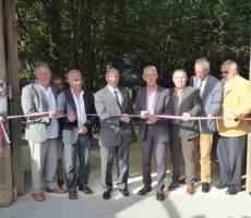 Inauguration nouveaux aménagements Loups de Chabrières